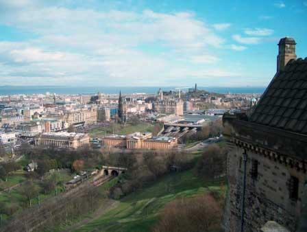 Edinburgh Blick