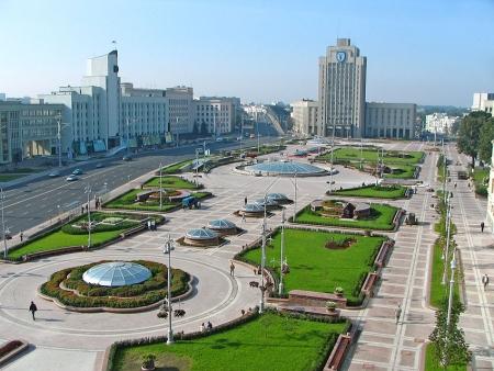 Weissrussisch, Minsk